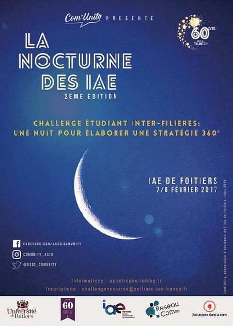 La Nocturne des IAE - IAE de Poitiers