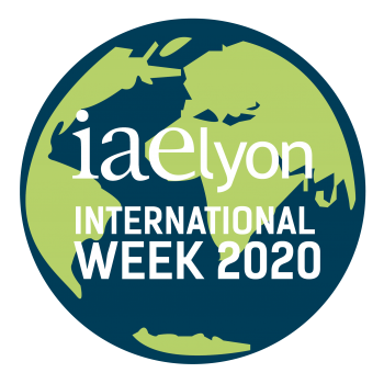 Logo International Week 2020 iaelyon