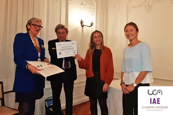 Prix de l'éthique IAE Auvergne