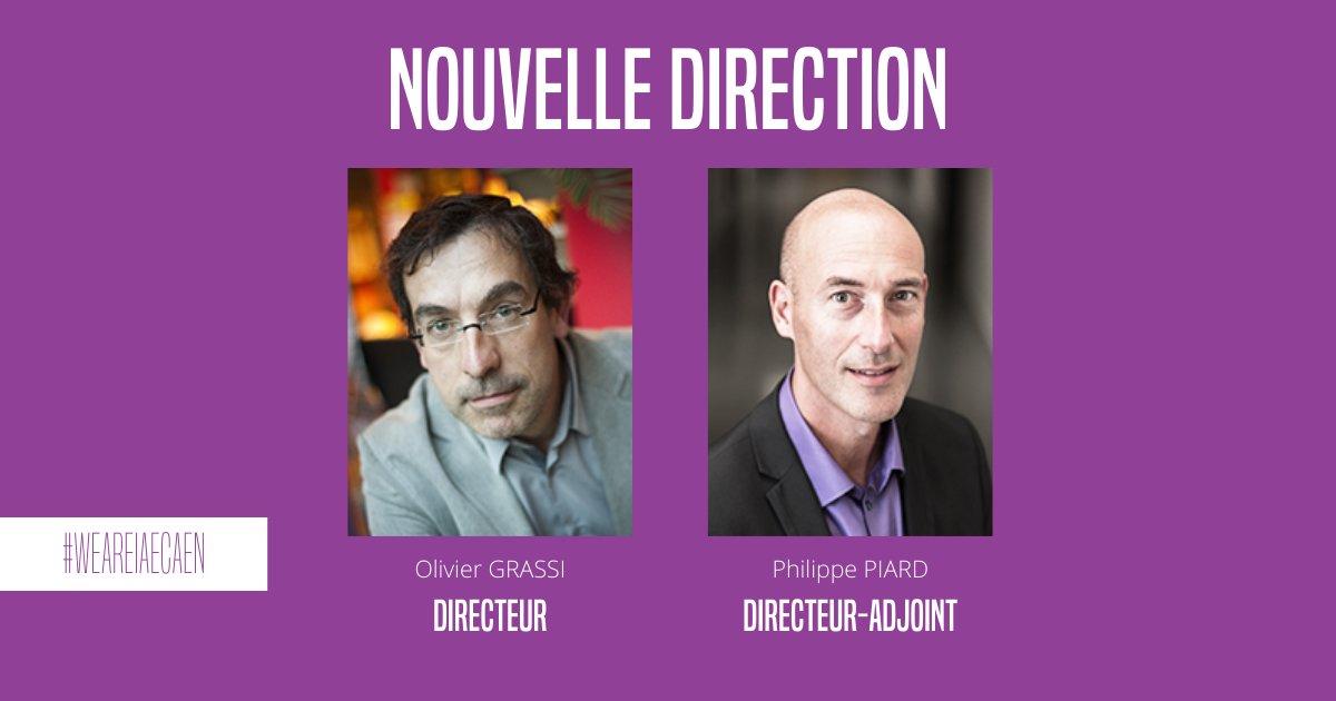 Nouvelle direction IAE Caen