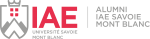 Logo Alumni IAE Savoie Mont-Blanc