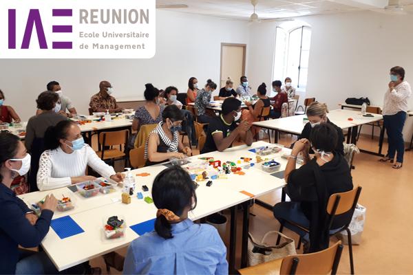 IAE Réunion-innovation lego