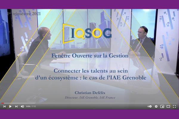 Christian DEFELIX, directeur Grenoble IAE-IQSOG