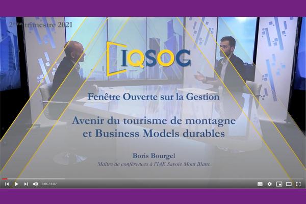Boris Bourgel - IAE Savoie Mont Blanc - IQSOG