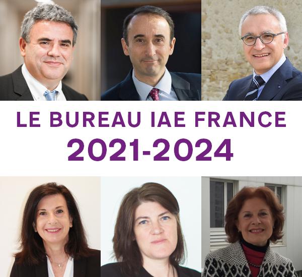 Nouveau Bureau IAE FRANCE 2021